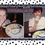 My first birthday cake {Redo}