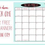 Free Holiday Planner Download