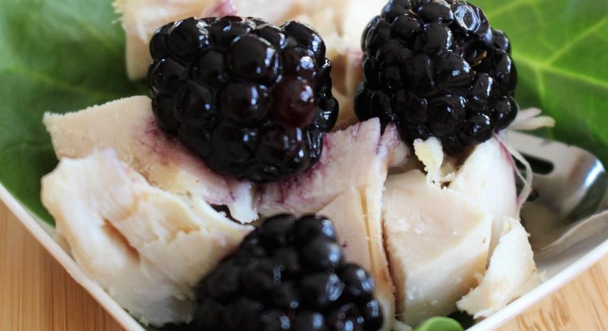 Blackberry Balsamic Vinegar Chicken Salad Recipe