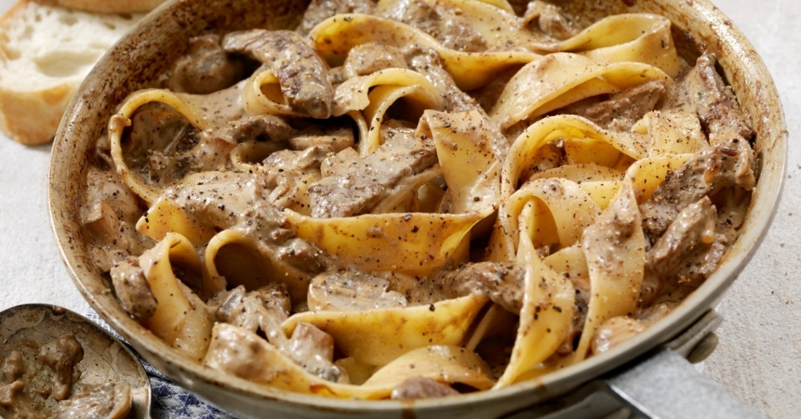 Easy beef stroganoff with cream of mushroom soup ⋆ ...