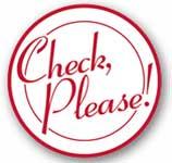 Check please! logo