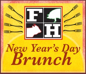 Wake Up to New Year's Day Brunch at Farmhouse