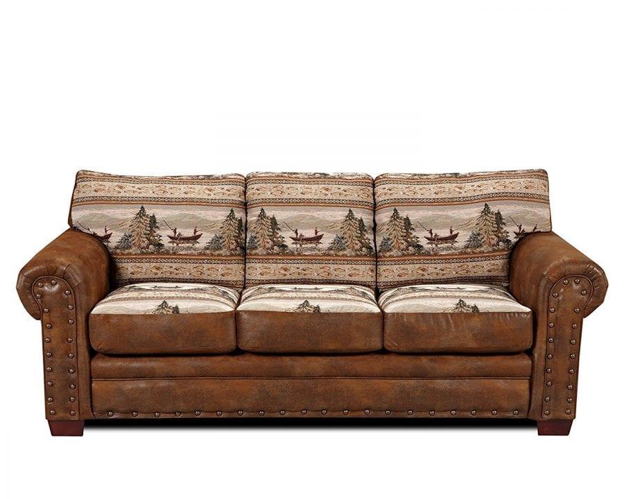 sofa sleeper for cabin brown sectional american furniture classics sierra lodge farmhouse goals