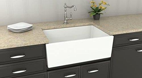 Renaissance Single Bowl Apron Front Farmhouse Sink, 30 ...