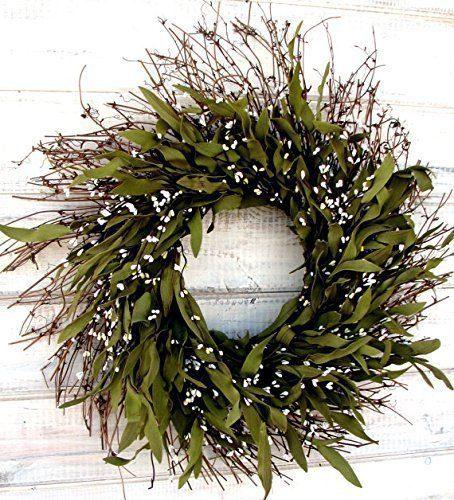 Year Round Outdoor Farmhouse Themed Wreath