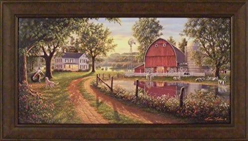 The Road Home by Kim Norlien 24x42 Farm House Art - Farmhouse Goals