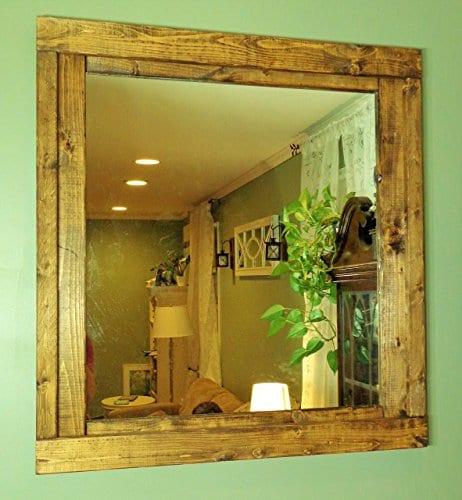 Renewed Décor Farmhouse Mirror in 20 Stain Colors - Farmhouse Goals
