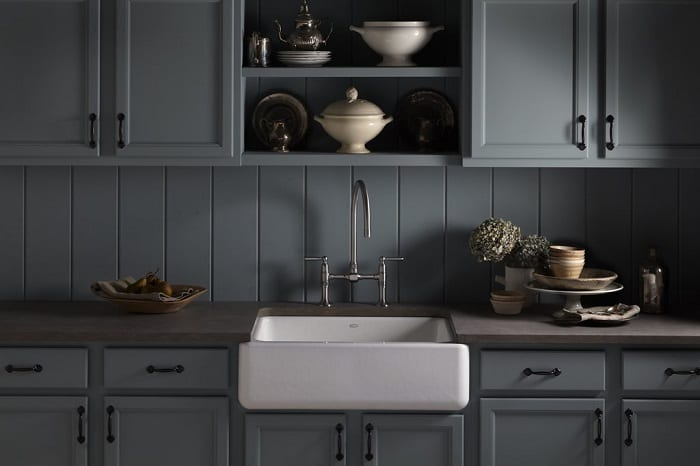 Kohler Whitehaven Cast Iron Farmhouse Sink 30 Inches