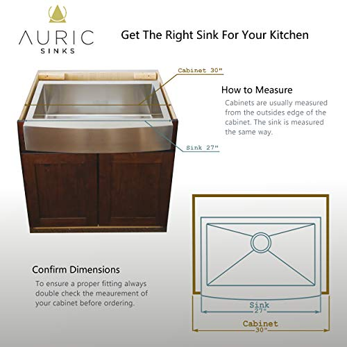 auric sinks 27 retrofit short apron farmhouse curved front single bowl sink stainless steel 6 scar 16 27 retro sgl