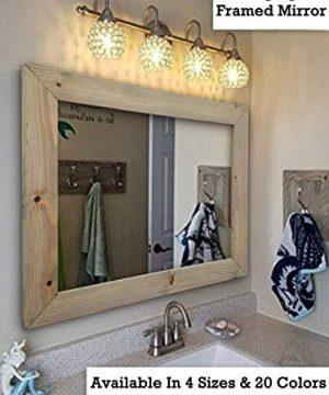 farmhouse mirrors rustic mirrors