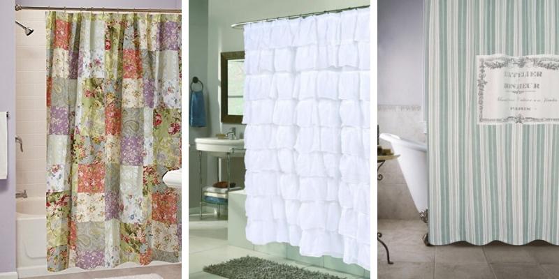 farmhouse shower curtains rustic