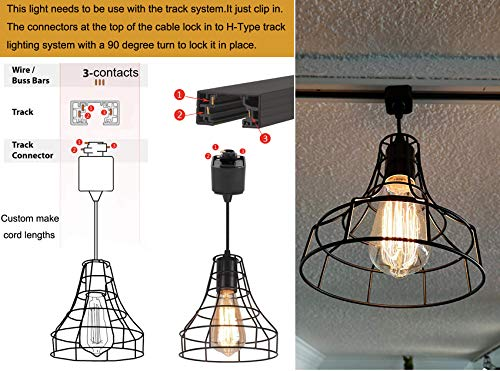 industrial h type track pendant lighting commercial track lighting rustic adjustable industrial track light kitchen