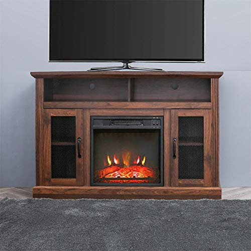 patio festival fireplace entertainment center wooden electric fireplaces tv stand fire place for tvs up to 50 wide espresso