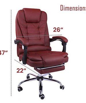 Modern Farmhouse Office Chair : modern, farmhouse, office, chair, Halter, Reclining, Leather, Office, Chair, Modern, Executive, Adjustable, Rolling, Swivel, Headrest, Retractable…, Farmhouse, Goals