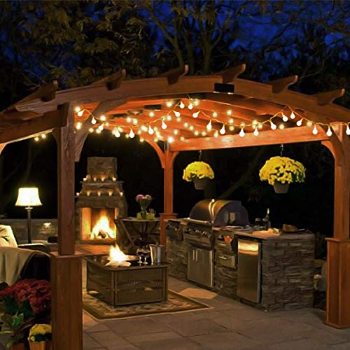 remote and timer abkshine 100 led warm white globe string lights outdoor waterproof battery powered led starry light