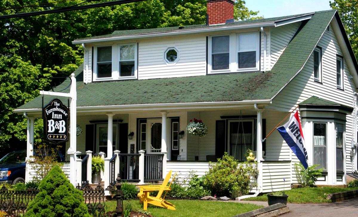 The Farmhouse Inn B&B, Canning, Nova Scotia