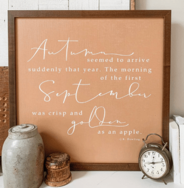 Farmhouseish - Autumn Sign Paisley Pear Home