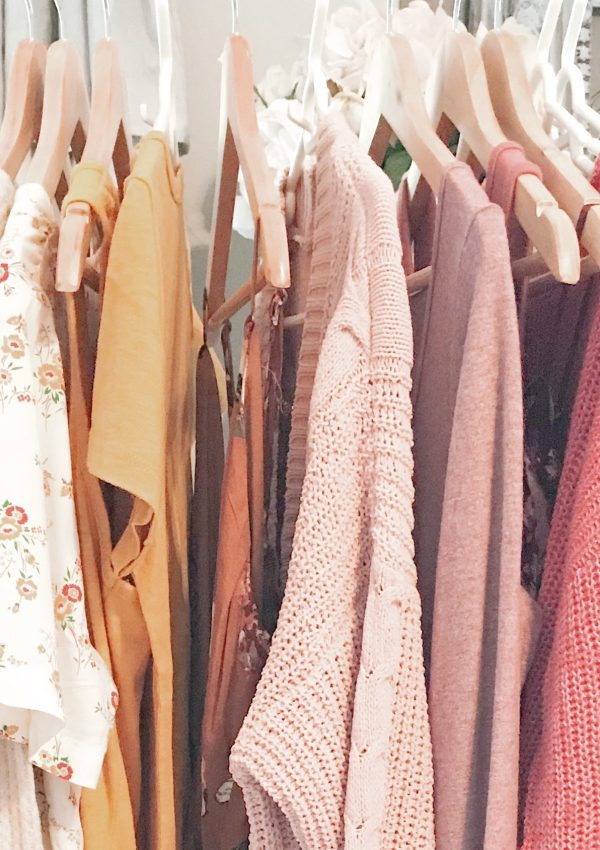 How To Simplify Your Wardrobe With This 6 Step Wardrobe Capsule-ish Process