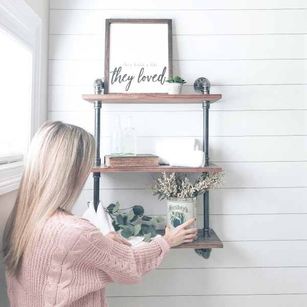 Farmhouseish - How To Style Shelves With Intention
