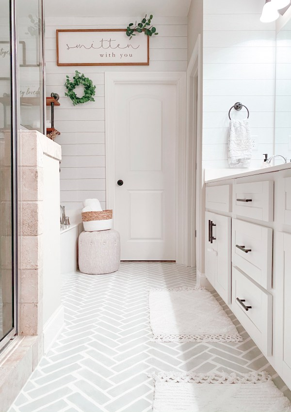 Master Bathroom Refresh: How I Did It & How You Can Too