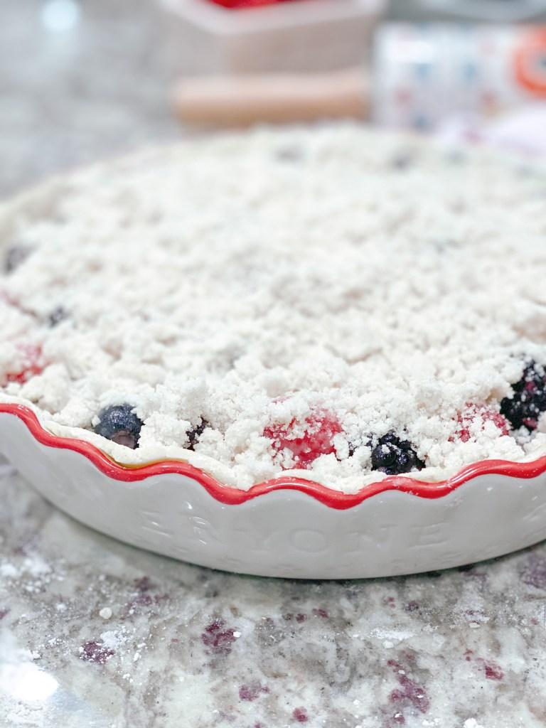 Farmhouseish - Gluten-Free Dairy-Free Pie Crumble Topping