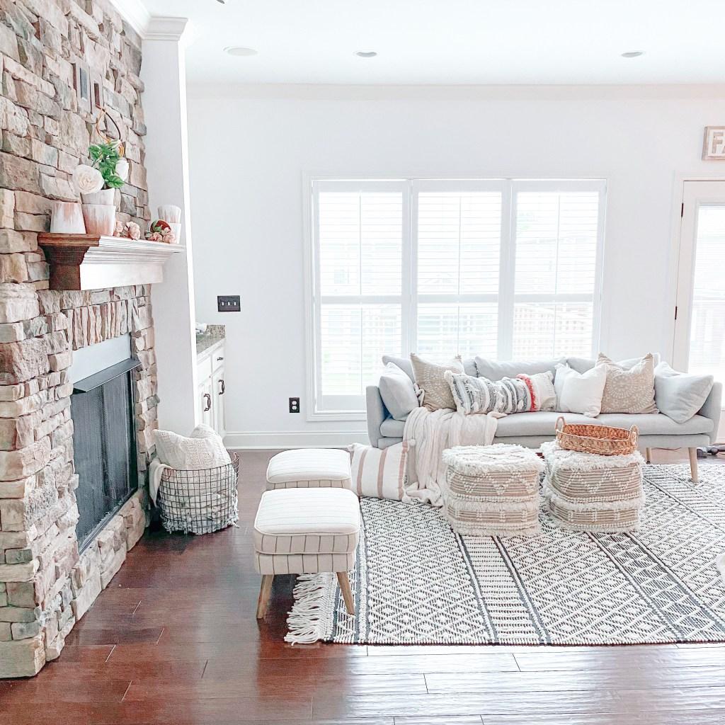 The Boho Modern Farmhouse Living Room Furniture I M Loving Right Now Farmhouseish