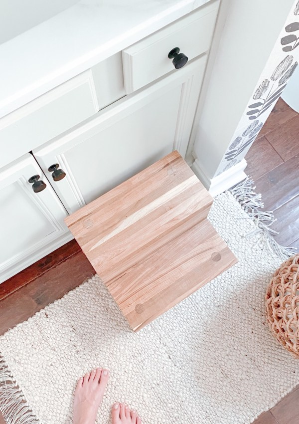 How I Completely Redid My Half Bath, One DIY At A Time