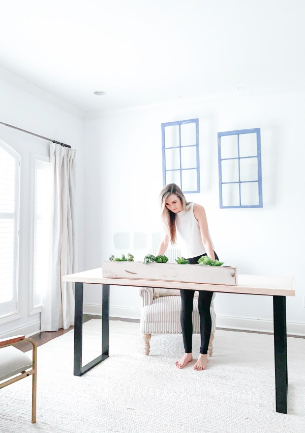 Build Your Own Industrial Desk With Ease In 8 Simple Steps