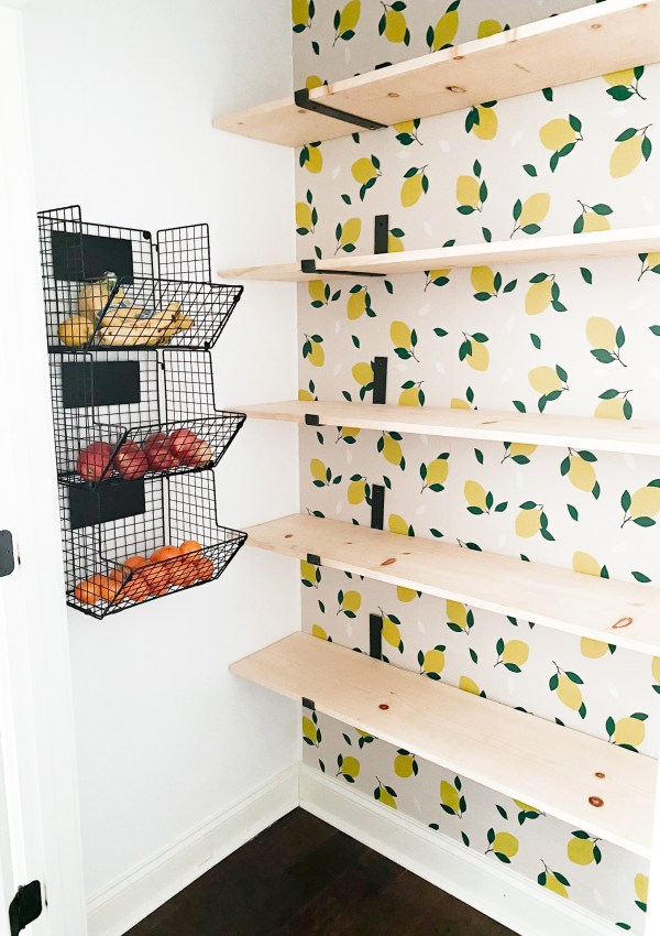 How I Organized Our Pantry In One Weekend With Simple Updates