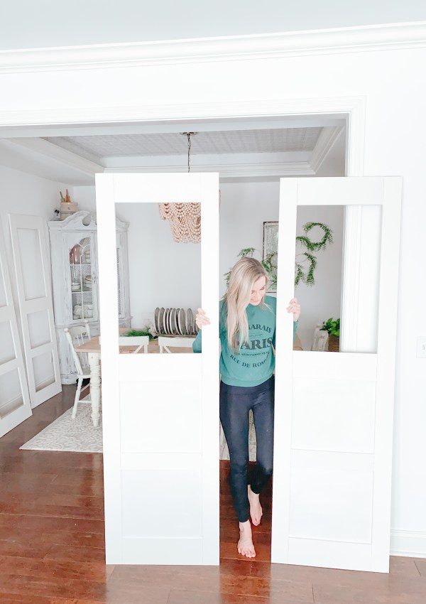 How To Build Unique Pantry Doors That Add Character & Charm To Your Home