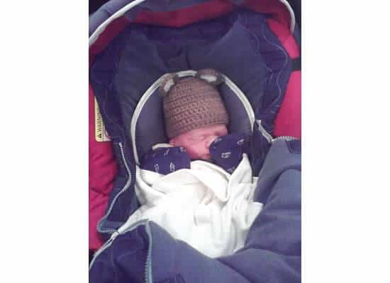 Baby in the Van Story- Eli's exciting Arrival!