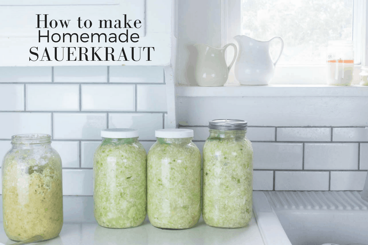 Learn how to make sauerkraut with this recipe for fermented vegetables that promote gut health