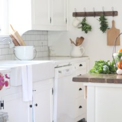 Ikea Kitchen Countertop Sink Basin A Review Of Our Quartz Countertops Farmhouse On Boone