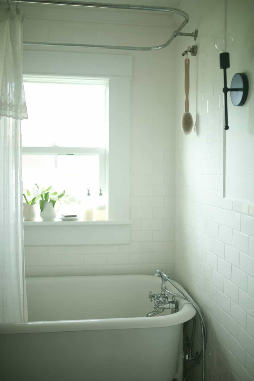 Farmhouse Bathroom Remodel Reveal Farmhouse On Boone