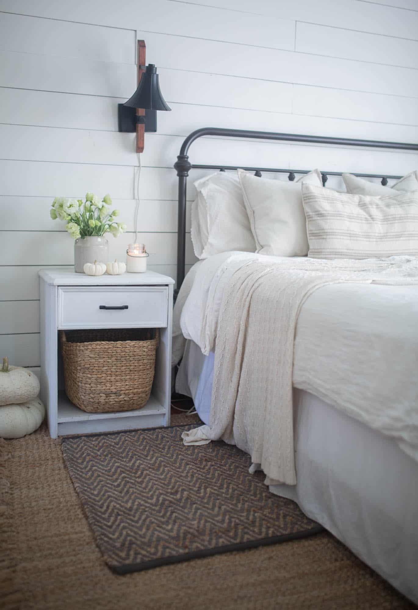 neutral fall decor farmhouse on boone. Black Bedroom Furniture Sets. Home Design Ideas