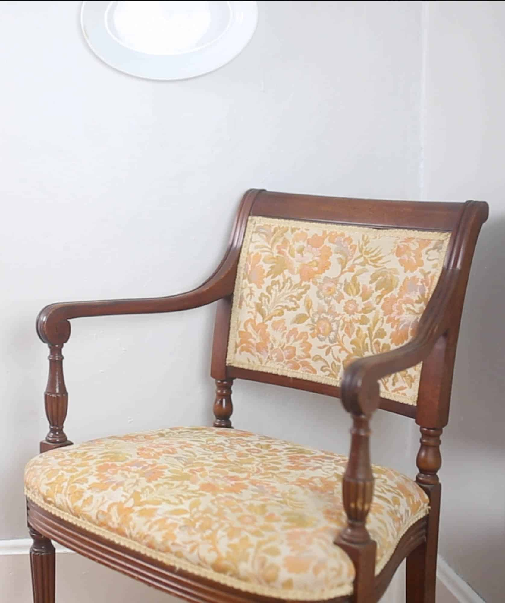 Video Chair How To Reupholster A Chair Farmhouse On Boone
