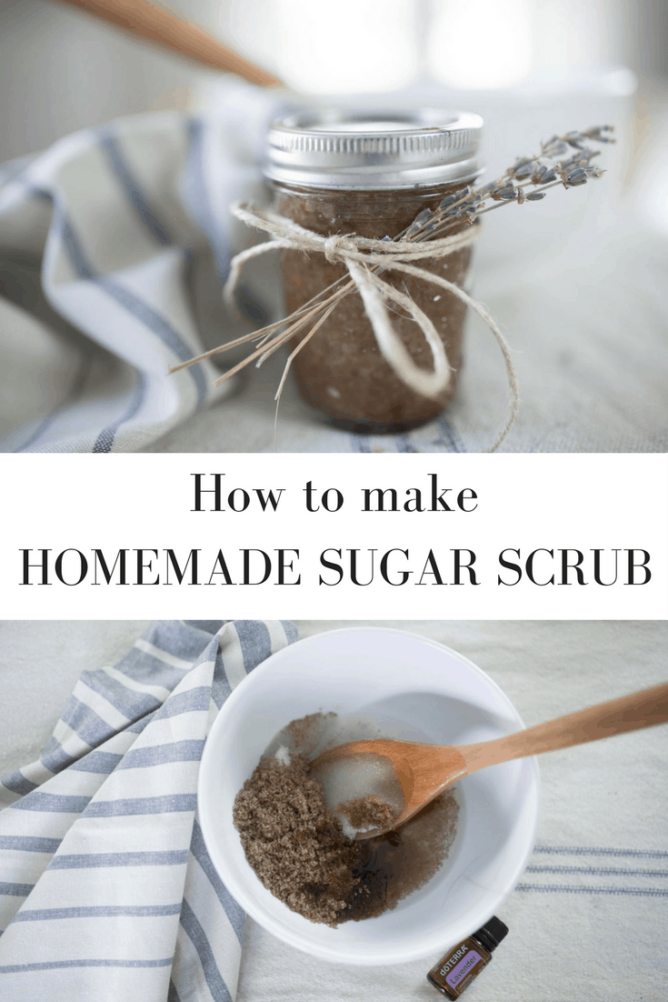 How to Make Homemade Sugar Scrub with All Natural Ingredients and Essential Oils