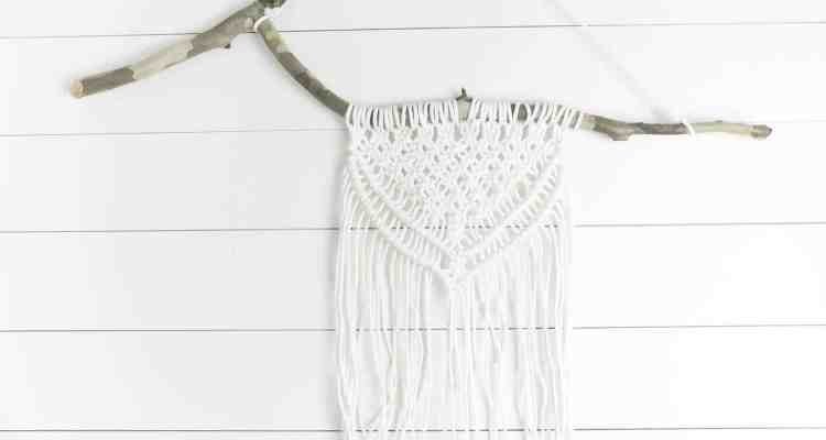 Macrame Wall Hanging DIY