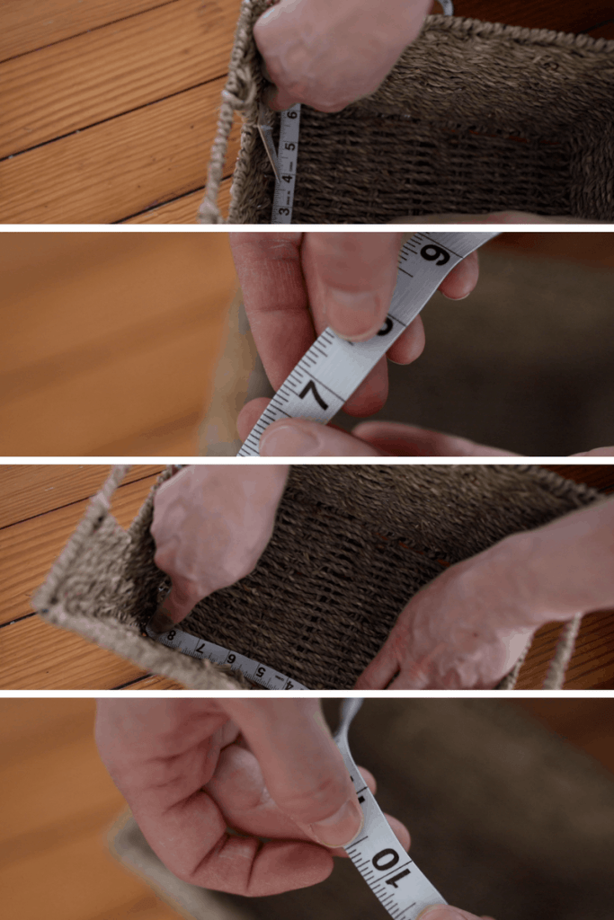 Sew your own basket liner with this video tutorial how to sew a basket liner