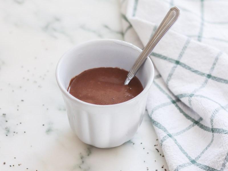 Healthy Chocolate Chia Seed Pudding
