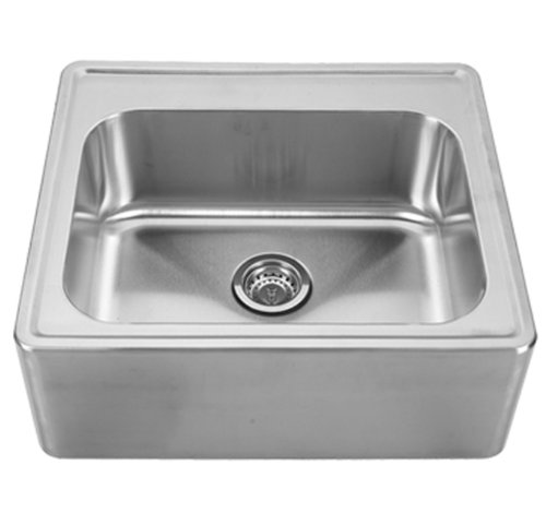 Discount Copper Farmhouse Sinks Whitehaus Whnap2522-bss Noah's Collection 25-inch Single