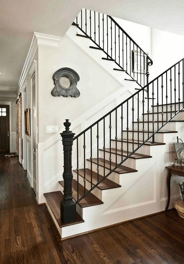 Modern Farmhouse Staircase Ideas : modern, farmhouse, staircase, ideas, Farmhouse, Staircase, Decor, Ideas, FarmiHomie.com