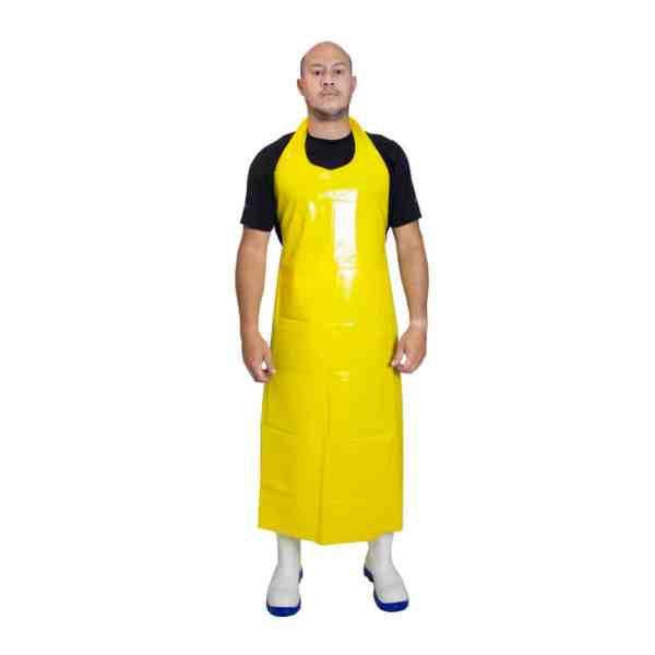 delantal amarillo