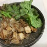 ネギと鶏肉のオイマヨ炒め
