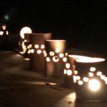 竹灯篭も星もみんな輝いてた