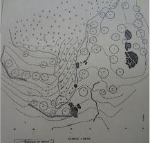 Plan of historic settlment