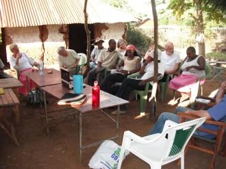 the final open air seminar in Tot
