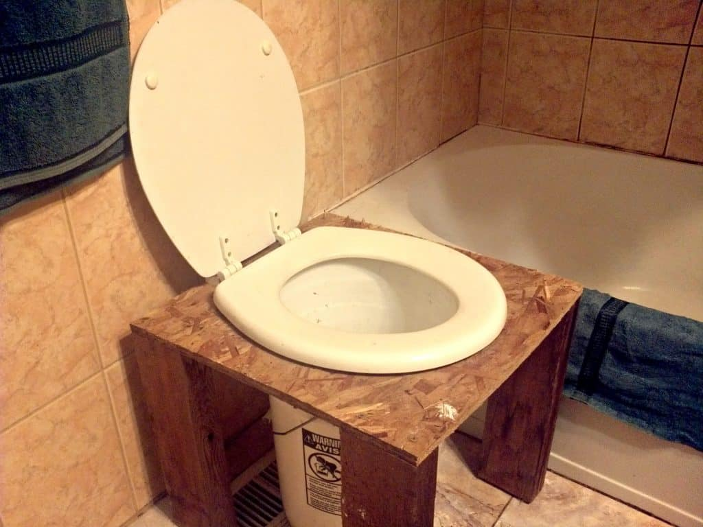 How To Make Your Own DIY Composting Toilet  Farming My