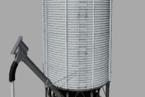 Station de remplissage de semences plaçable avec vis sans