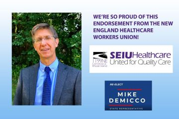 Endorsement from the New England Healthcare Workers Union